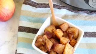 Instant Pot Cinnamon Apples - Great For Snack, Breakfast, or Dessert!