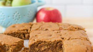 Gluten Free Apple Blondies (Dairy Free & Nut Free)