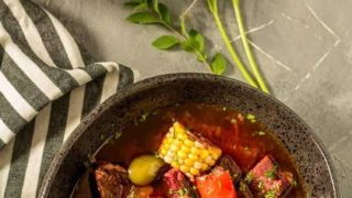 Instant Pot Argentinian Beef Stew (Carbonada Criolla)