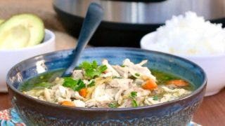 Instant Pot Chicken Soup | Soothe the Soul and Beat the Flu