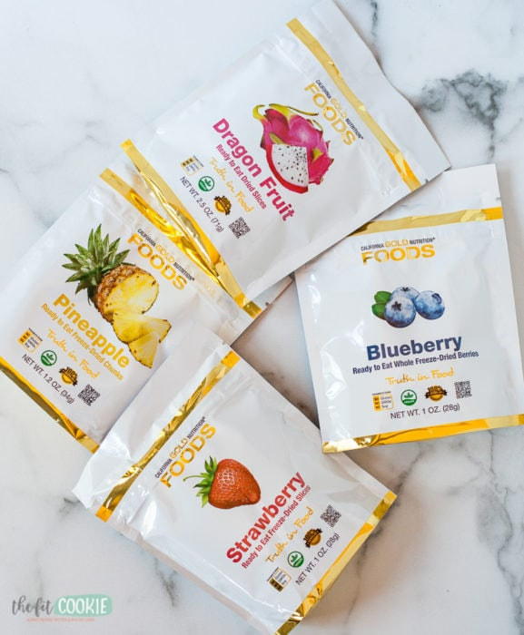 freeze dried fruit from iHerb