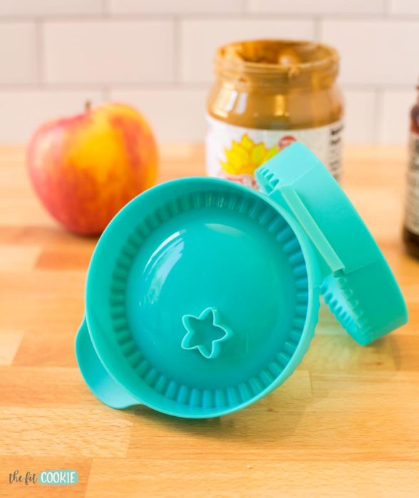 spread slice and seal set set from Tupperware for making uncrustables