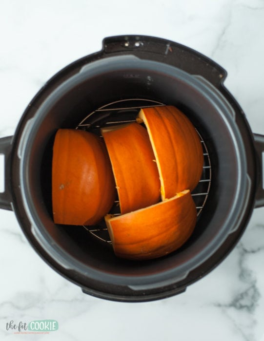 how to cook pie pumpkins in the instant pot