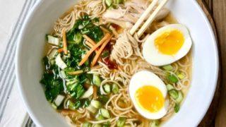 Instant Pot Ramen Noodles (Stovetop Option) | 21 Day Fix Ramen Noodles (Gluten-free/Dairy-free)