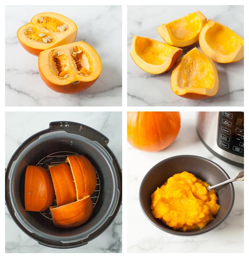 how to make pumpkin puree at home with the instant pot
