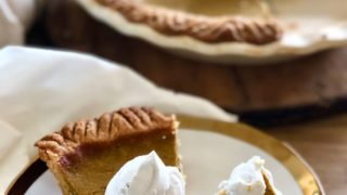 21 Day Fix Pumpkin Pie [Gluten-free & Dairy Free]