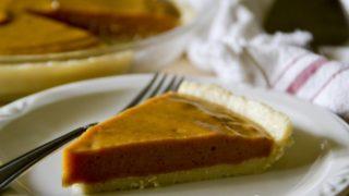 Paleo No-Bake Maple Pumpkin Pie
