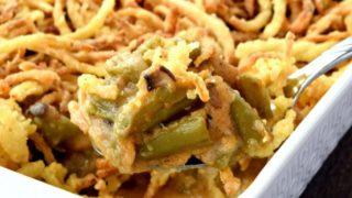Green Bean Casserole - Gluten Free, Vegan