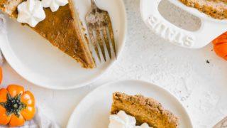 Gluten Free Paleo Pumpkin Pie