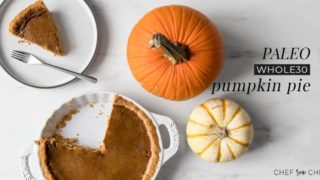 Whole30 Pumpkin Pie for Thanksgiving
