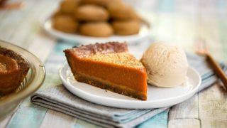 Gingerbread Pumpkin Pie Recipe (Vegan, Gluten-free & Allergy-friendly!)