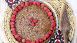 Gluten Free Raspberry Pecan Pie