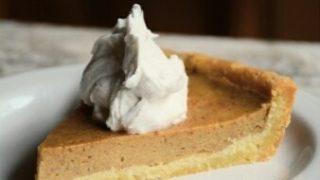 Persimmon Pie - Paleo, Vegan