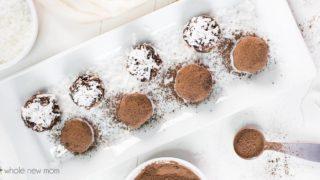 Healthy Chocolate Avocado Truffles {with a Kick!}