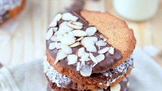 Coconut Almond Cookies - Healthy Paleo Cookies