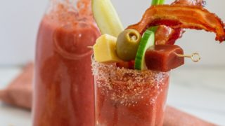 Non-Alcoholic Bloody Mary Mocktail