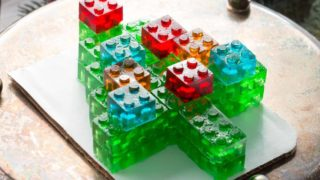 Best Food Gifts: Gummy LEGO Candy Christmas Tree