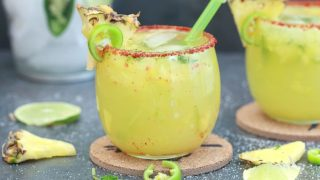 Virgin Pineapple Jalapeno Margarita