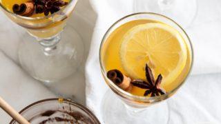 Green Tea Nonalcoholic Hot Toddy Recipe