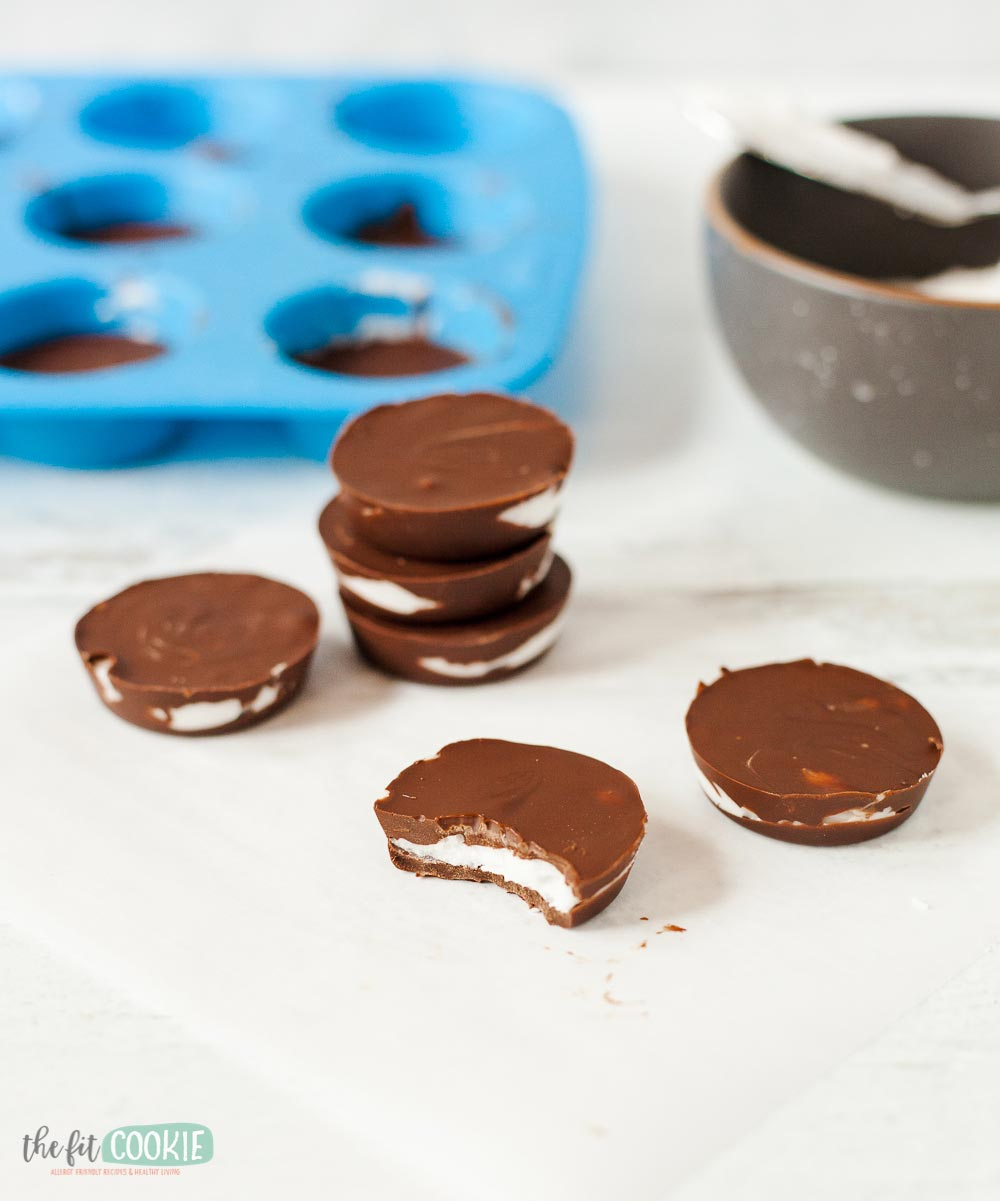 homemade dairy free peppermint patties