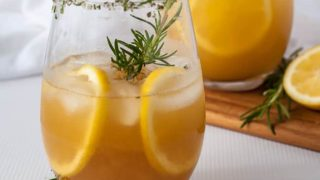 Simple Pineapple Ginger Kombucha Cocktail