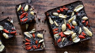 Sweet & Salty Chocolate Bar with Fruits & Nuts
