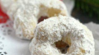 Bohemian Crescent Cookies (Vegan, Gluten Free).