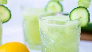 Clean Cucumber Collins Cocktail (non-alcoholic)