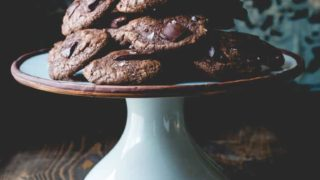 gluten free buckwheat chocolate cookies