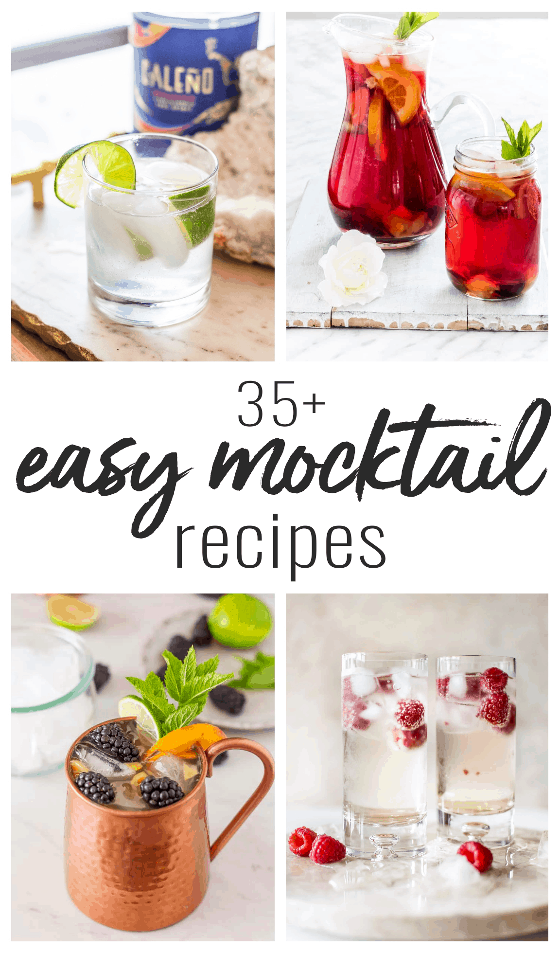 easy non-alcoholic cocktail recipes