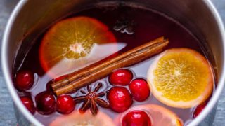Non Alcoholic Mulled Wine Recipe (Slow Cooker and Stove Top)