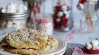 Peppermint Marshmallow Sugar Cookies
