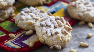 Lidia's Italian Pignoli Cookies
