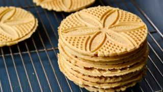 Pizzelles Recipe - Healthy Cookie for a Holiday Dessert