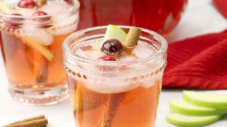 Sparkling Chai Christmas Punch (non-alcoholic)