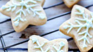 Vegan Sugar Cookies (gluten-free & nut-free) · Allergylicious