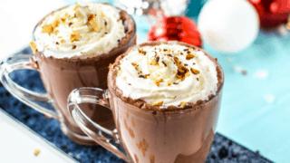 Almond Joy Hot Chocolate Toddy