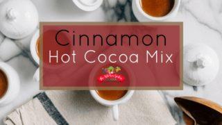 Homemade Cinnamon Hot Cocoa Mix