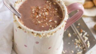 Healthy Almond Milk Hot Cocoa (Vegan, Dairy-Free)