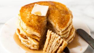 Gluten Free Buttermilk Pancakes (Vegan)