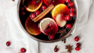 Non-Alcoholic Mulled Grape Juice