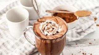 Dairy Free SunButter Hot Chocolate (Paleo and Keto Options)