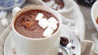 Tart Cherry Hot Chocolate