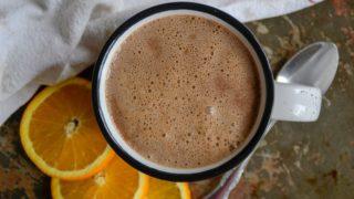Almond Orange Hot Cocoa