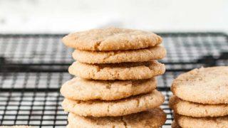 Gluten Free Sugar Cookies (Top 8 Free)