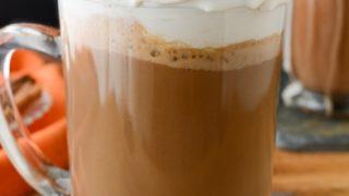 Pumpkin Spice Hot Chocolate (Dairy-free)