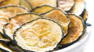 Healthy Oven Baked Zucchini Chips Recipe