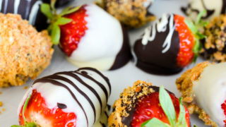 Caramelized Chocolate Covered Strawberries