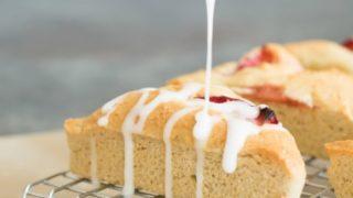 EASY Dairy Free Gluten Free Strawberry Scones