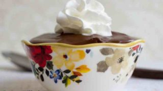 Rich Chocolate Pudding - Dairy & Sugar Free Low Carb